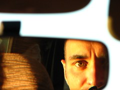 Stupid photo (Conanil) Tags: auto light reflection eye luz car ojo licht lumire voiture oeil coche carro olho reflexion auge occhio luce reflexin oog conan riflesso rearmirror reflexo rflexion bezinning specchiettoretrovisore achterspiegel espejoposterior miroirarrire hintererspiegel espelhotraseiro