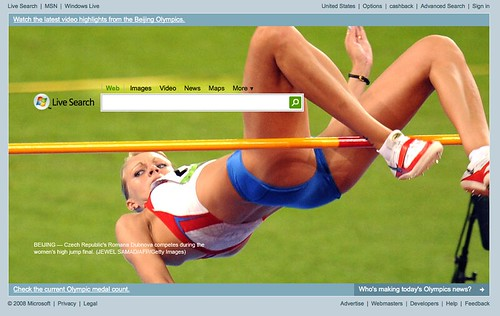 Live Olympics Homepage