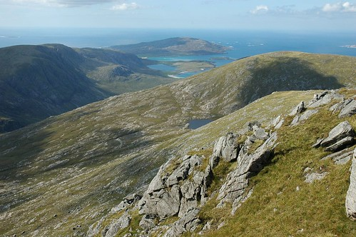 Scarp from Tiogra Mor