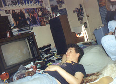 199407 - Clint\'s room - Clint - laying down - 0497