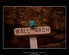 Matt Murphy Clay Head Sculpture & the Historic Wall Arch Sign