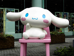 Cinnamoroll (MastaBaba) Tags: dog cute japan puppy tokyo hellokitty cinnamoroll 20080828