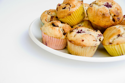 Bacon and Blackberry Muffins