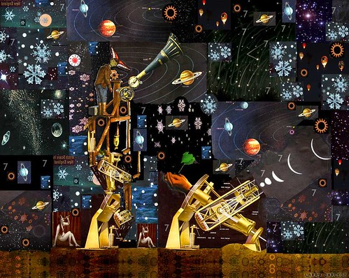 Larry Carlson, The Moon Mechanisms, digital chromogenic print, 18x14in., 2009.