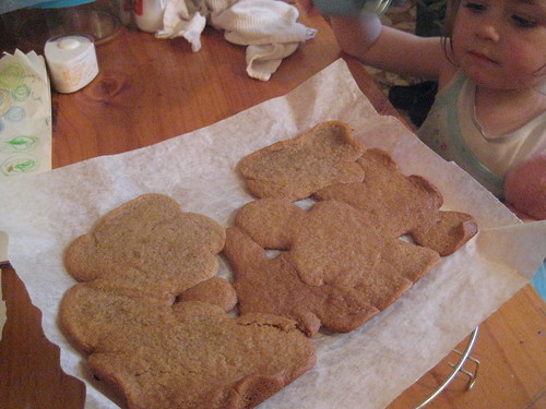 Gingerbread Blobs