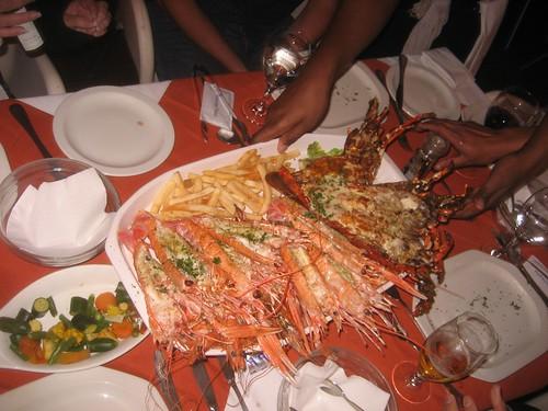 Big seafood grill