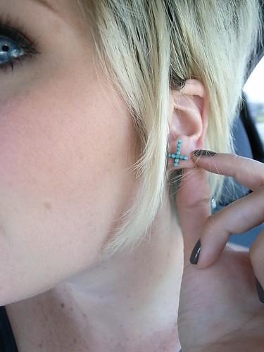 vintage earring.