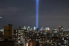 September 11, 2008 (Dan10956) Tags: new york nyc newyorkcity light newyork never night remember manhattan worldtradecenter 911 terrorist september wtc tribute september11 11th tributeinlight forget