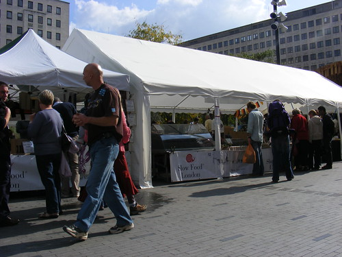 slow food stall
