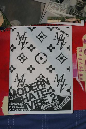 modern hate vibe zine