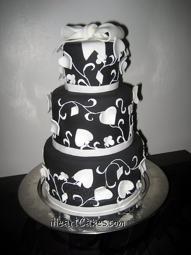 cake boss wedding cakes black and white. iHeartCakes middot; Black and