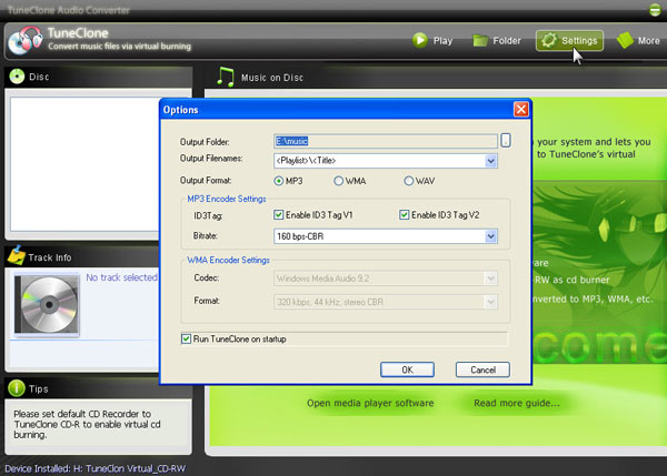 Convert protected AAC/M4P to MP3