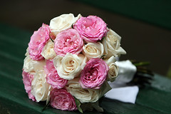 Bouquet (Megan Lorenz) Tags: flowers wedding roses fresh bouquet favoritegarden vosplusbellesphotos
