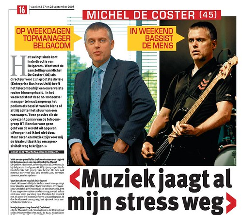 Michel Decoster in HLN