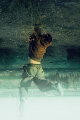 Hanged .- 2008 (RolanGonzalez) Tags: campo chico montaje colgado raro surrealismo surrealista sudadera