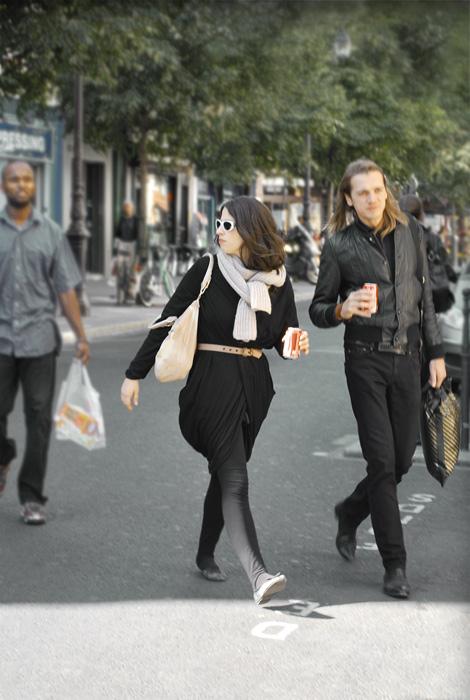 Street style in Paris