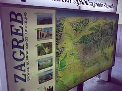 Zagreb signboard