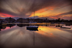 Woods Hole sunset (slack12) Tags: sunset ferry reflections boat pond massachusetts sail woodshole mbl hdr cloudscapes eelpond greatphotographers flickrsbest platinumphoto superaplus aplusphoto theperfectphotographer goldstaraward perfectescapes goldenart