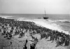 Grounding of Ship, Ocean Beach