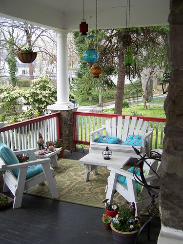 front porch seating by you.