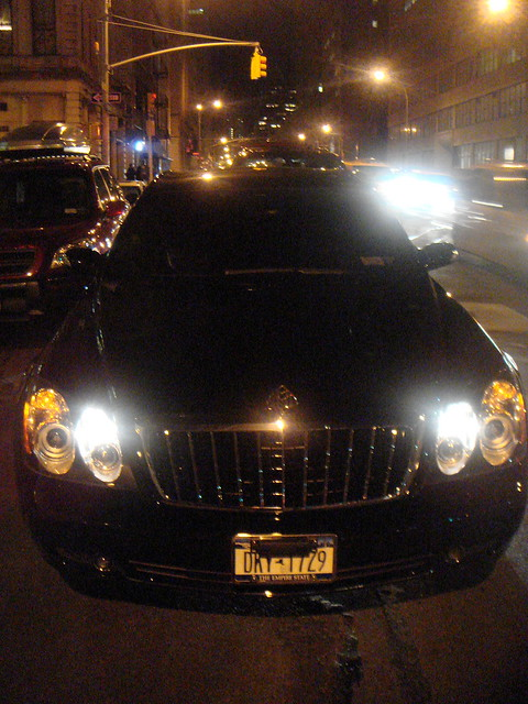 Mariah Carey's Maybach Benz. by mcbnyc