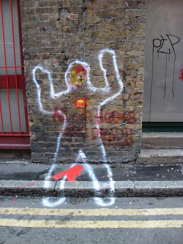 """London Street Art"" ""Blackall Street"""
