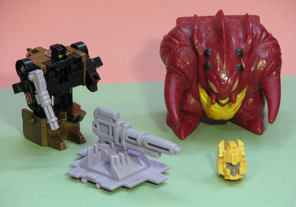 Project 365 Toys - Monster Pretender Slog (Day 106 of 365)