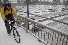 Snowy ride around North Portland-16