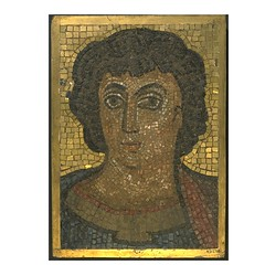 Mosaic with Head of Christ,  Museum  no. 4312-1856.