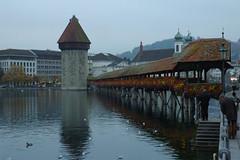 Chapel Bridge (paulNming) Tags: bridge switzerland chapel lucerne chapelbridge kapellbrcke