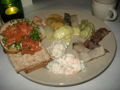 Herring Fest '08 (fotolulu) Tags: christmas chicago feast dinner swedish herring scandinavian julbord trekronor