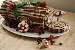 Yule Log - Рождественское полено (рулет)