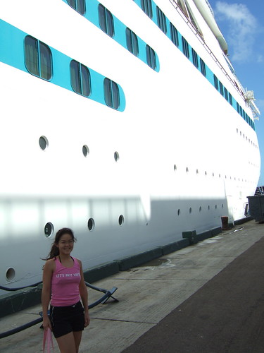 Our Cruise Ship at Nassau