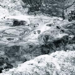 surprises de ruisseau (anne marie bouyssou) Tags: art nature water eau reflets aesthetic noisette ruisseau 500x500 freshminds haphazartfresh figuresdeau facesofwater