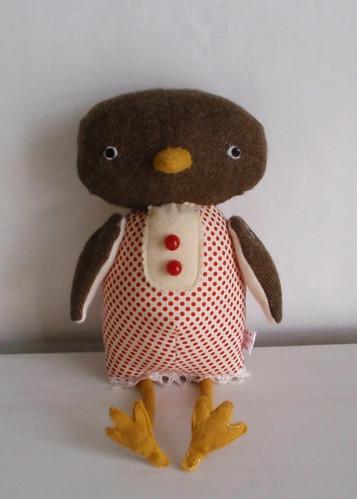 Brown Tweed Chicken7