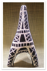Soft Eiffel (violetta testacalda) Tags: inanimate plush softies toureiffel plushes violettatestacalda