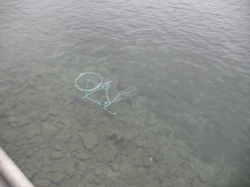Bike in the River