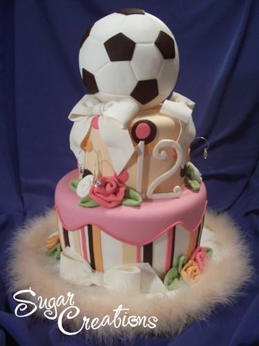 Katie's Soccer Cake