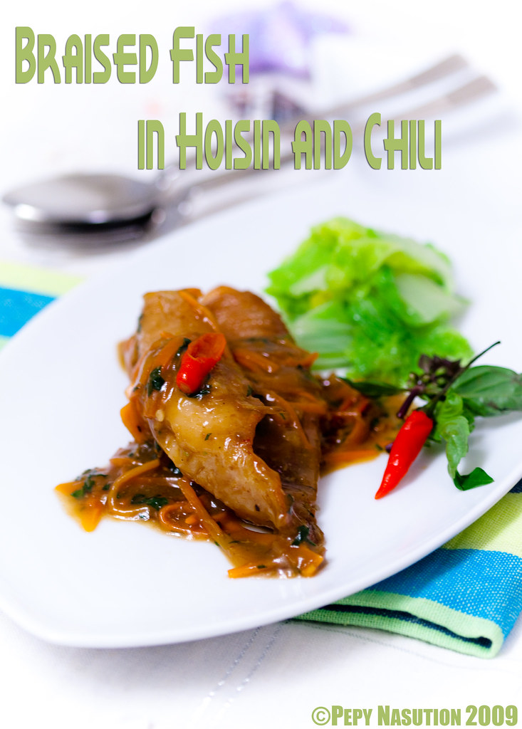 Braised Fish in Hoisin and Chili Cover