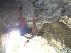 P7251956 (Jan Chvla) Tags: 2006 climbing polsko jaskynamamutova