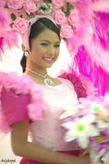 pretty in pink.. (docjabagat) Tags: pink beautiful face pretty cebu filipina cebucity sinulog tangub sinulogfestivalqueen winnerfestivalqueen2009 tribusinanduloy misstangubcity irishmaelinganay