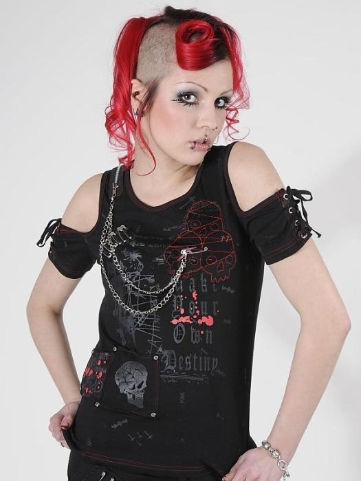 Dámske tričko Queen Of Darkness SH11-231-07
