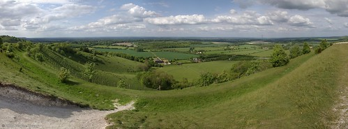 View from Beacon hill, Berkshire