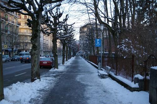 出發前的Fribourg