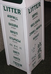 litter in many languages