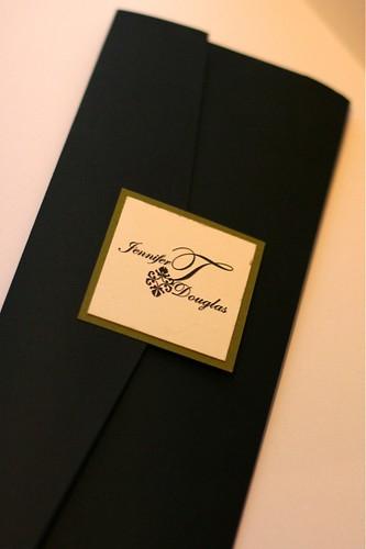 Elegant Pocket Wedding Invitation Collection