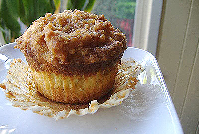 Genesis Of A Cook Coffee Cake Muffins
