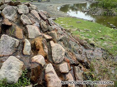 some rocks