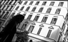 Windows and Messages (Alberto Pasini) Tags: windows bw streets rome streetphotography urbanjungle sms prati 19thcenturyarchitecture albertopixel viacicerone romaumbertina cronacheurbane