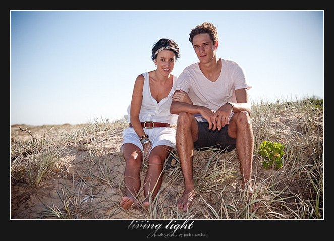 Newcastle, Nobby's Beach. Engagement session.